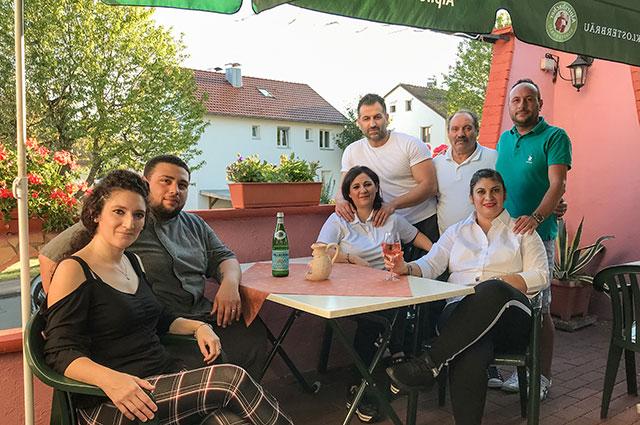 Das Team des Ristorante La Favola