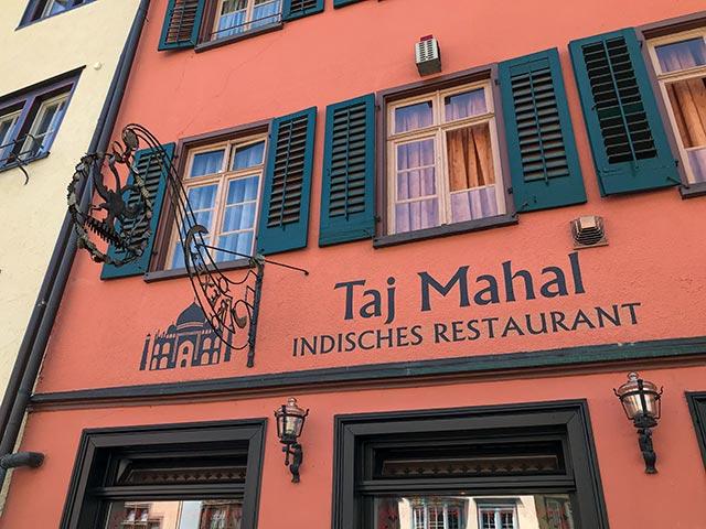 Taj Mahal aussen