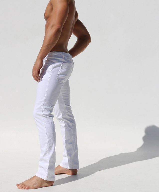 white pants only