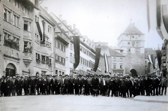 Die Städtefreundschaft mit Brugg: 500 Jahre Ewiger Bund, die Schweiz und Rottweil