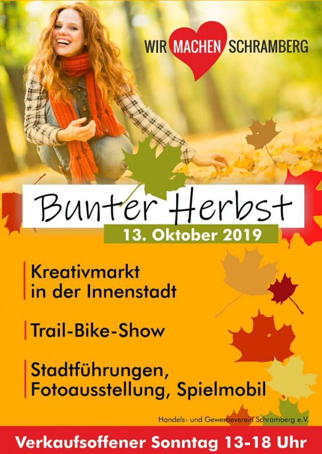 Bunter Herbst in Schramberg