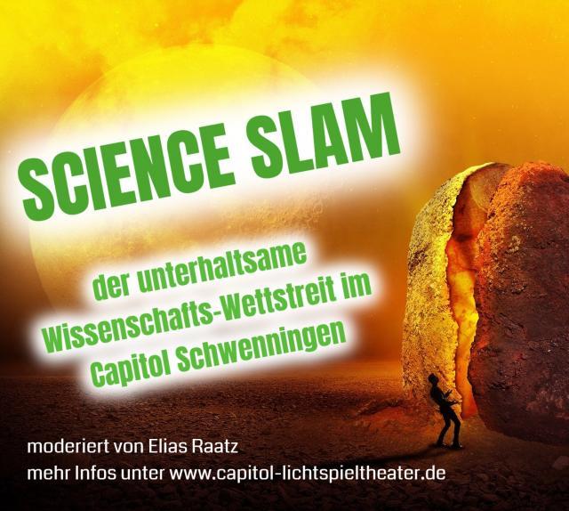 Science Slam - der unterhaltsame Wissenschafts-Wettstreit