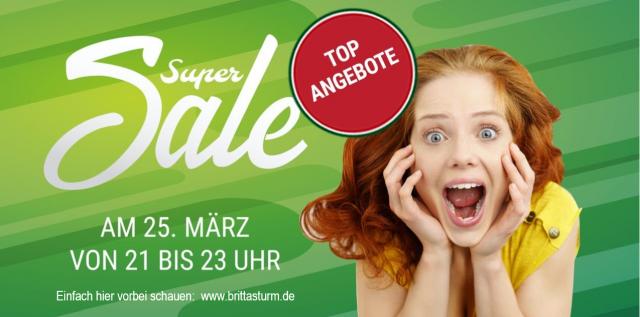 Super Sale auf meiner Homepage