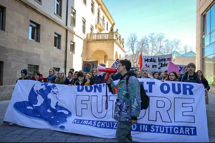 Klimawandel bewegt - Schüler informieren und organisieren sich
