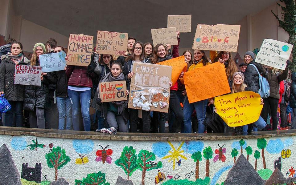 Rottweiler Schüler streiken für den Klimaschutz