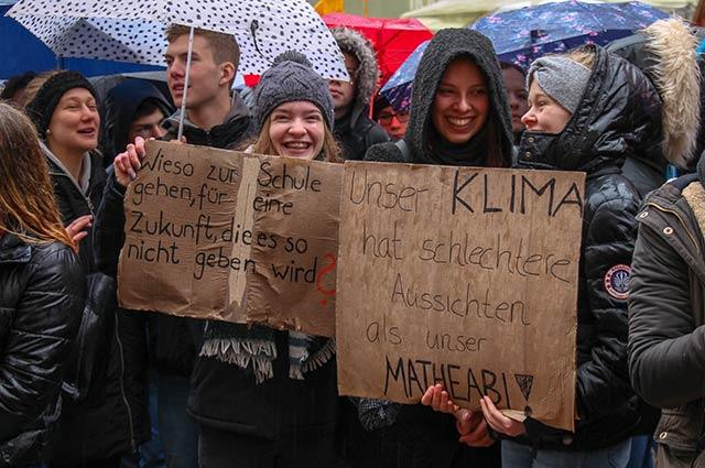 Wir fordern eine bessere Klimapolitik. Jetzt. Für uns. Für alle nachkommenden Generationen.