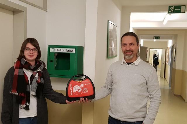 Defibrillator für die Spittelmühle