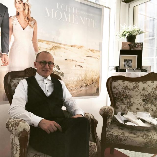 Gent auf der Hochzeitsmesse