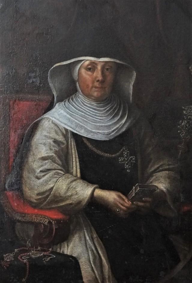Reichsäbtissin Maria Williburg Frey von Rottenmünster (Porträt von 1700)