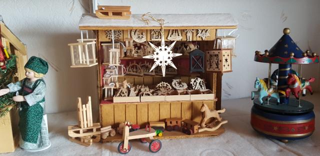 Weihnachtsmarkt im Museumsfenster