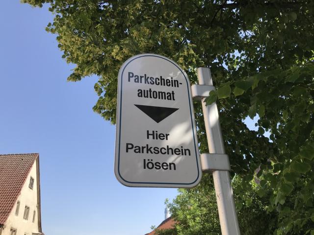 Parken in Rottweil