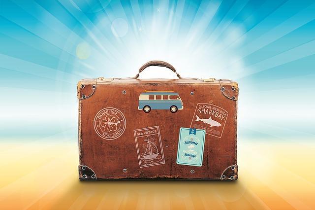 Koffer - Endlich Urlaubszeit