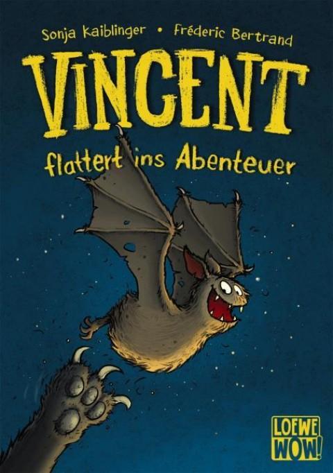 Buch Sonja Kaiblinger/Fréderic Bertrand, Vincent flattert ins Abenteuer