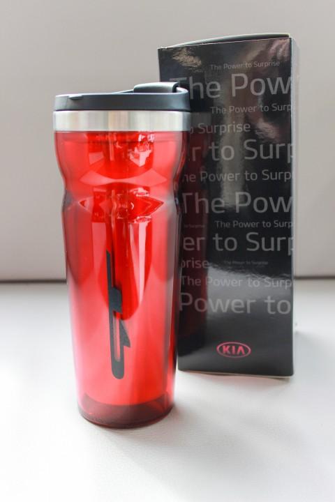 KIA Thermoflasche GT | Rot