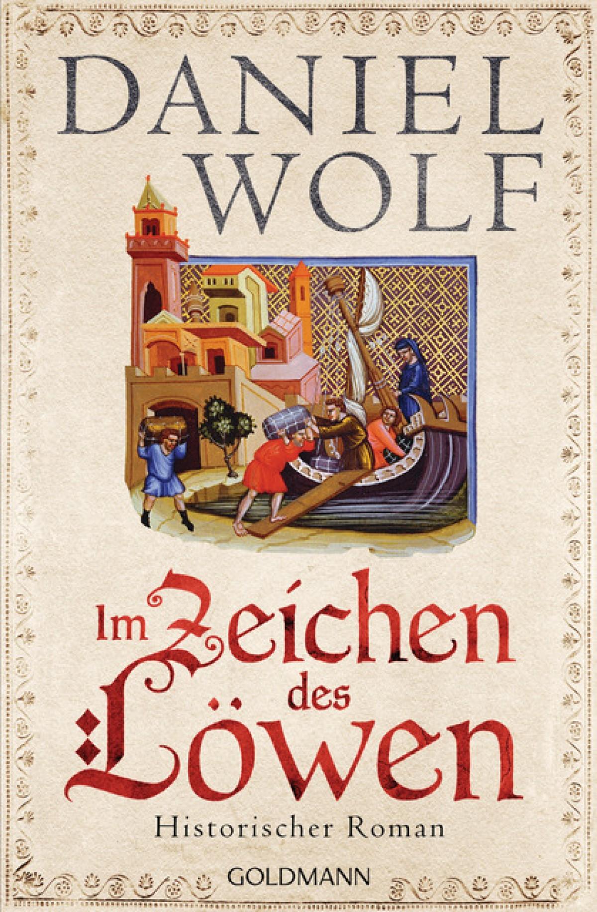 Buch Daniel Wolf, Im Zeichen des Löwen