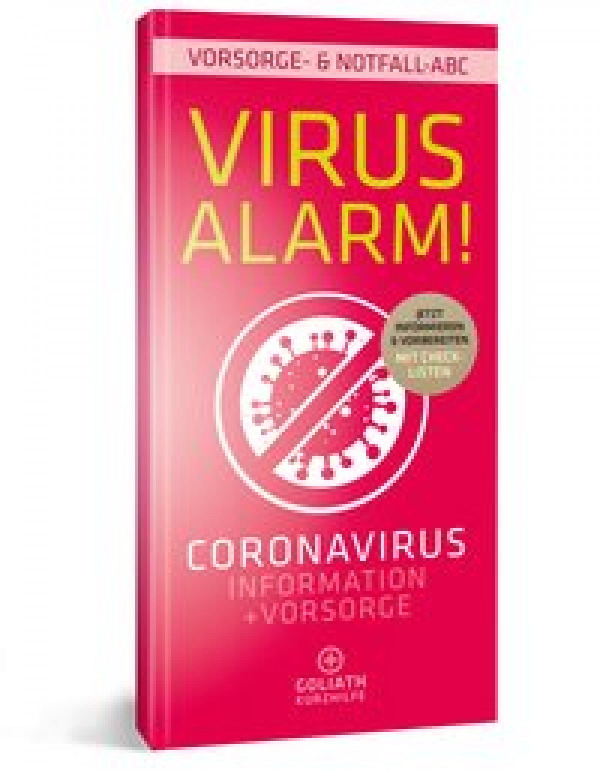 Buch Virus Alarm! Coronavirus Information + Vorsorge