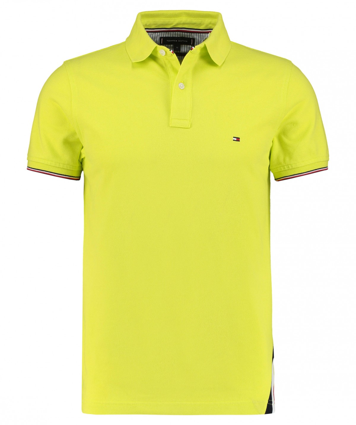 12398 Tommy Hilfiger Polo Shirt Slim Fit | LRE Zitrone